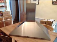 Brittannia Cooker hood in stainless steel