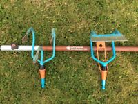 Gardena Combisystem Drawback Hoe & 3 Prong Cultivator