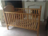 Mamas & Papas Arabella cot/bed x 2 (ideal for twins)