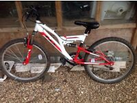 Kids 24'' mountain bike for sale - 8 months old