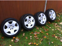 Vauxhall vectra signum Zafira wheels all 4 tyres new