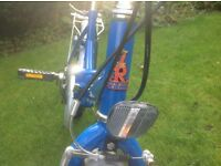 Folding Raleigh Bicycle good working condition