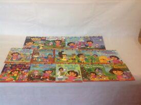 Dora the explorer Story Book Bundle x14