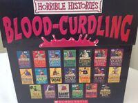 Box set 20 horrible histories books