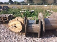 Wooden cable drums for sale