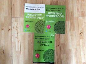 Maths revision books Foundation