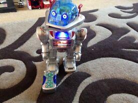 Robot light up