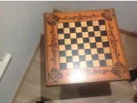 Stunning wooden games table.Topclass condition