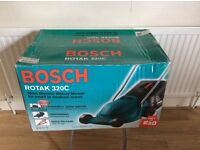 BOSCH ROTAK 320C ELECTRIC ROTARY MOWER