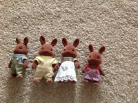 Sylvanian Families Brown Bear Family