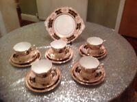 Salisbury bone china tea set