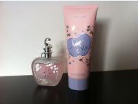 As new, Amore Mio 100ml perfume & 100ml body lotion