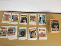 100 girl comics post cards collection