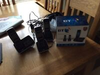 BT Triple Nuisance Blocker Phones with Answer Phone