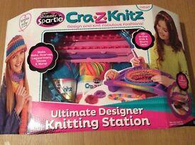 For Sale - Brand New Cra-Z-Knitz Ultimate Designer knitting station
