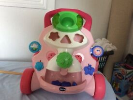 Walking toy for baby girls