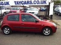 £30 ROAD TAX CLIO DIESEL £995