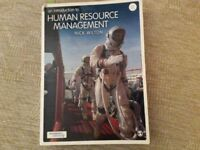 Text book for university level human resource management