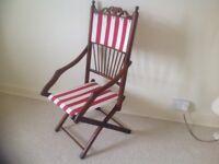 Chair - Steamer/ Directors Chair