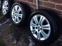 """16"""" Vauxhall SXI Alloys"""