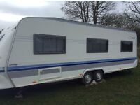 Hobby caravan prestige model 2004