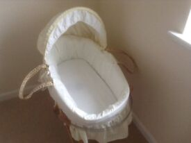 Baby Swing Moses Infant Basket Bassinet Cot Crib Mothercare