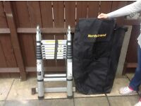5 meter telescopic ladder with carry case