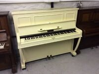Beautiful Upright Obermeier Overstrung Piano - DELIVERY AVAILABLE