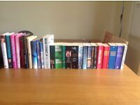 Selection of Books for Sale – 30p each or 5 for £1 – authors & titles listed below