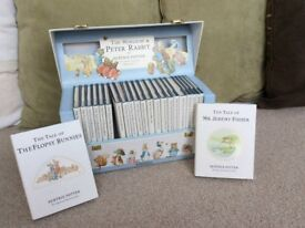 "Beatrix Potter boxed set ""The World of Peter Rabbit"""