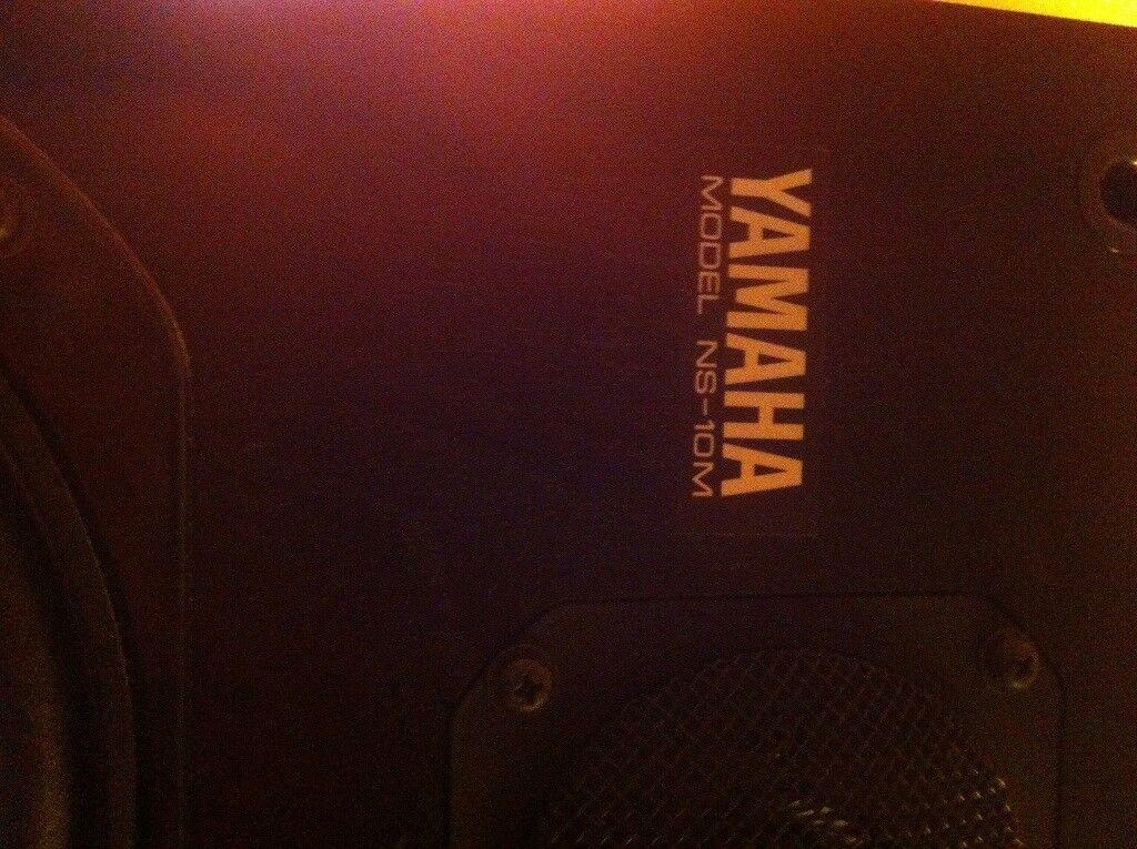 Yamaha Ns10m pair BUY TODAY CHEAP!