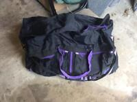 Very large holdall bag in as new condition. Shoulder straps, extra zipped pockets