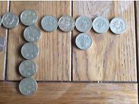 Change checker coins