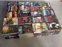 Lots of Warhammer and WH40K novels for sale