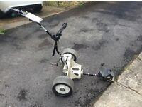 Power caddy golf trolley