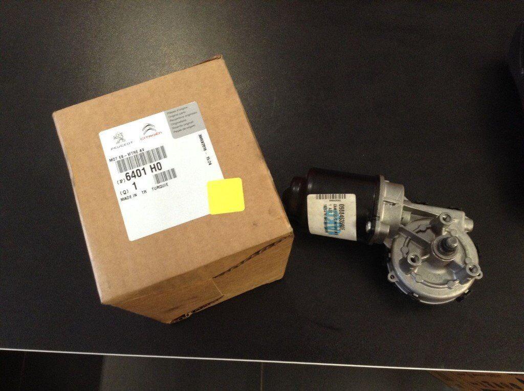 Genuine Citroen Nemo & Bipper Front wiper Motor New 6401H0