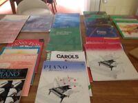 Piano music/ theory books/ exam pieces