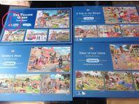 Jigsaw bundles 500 & 1000 pieces - £3 - £8 see individual bundle details