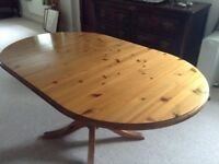 Ducal antique pine dining table