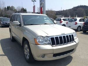 2008 Jeep Grand Cherokee Limited, AWD, CUIR, NAVIGATION