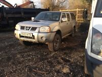 2003 Nissan navara double cab 2.5cc diesel manual 11 months mot still in daily use