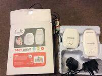 BABY WAVE digital audio monitor. Hardly used Still in box. No longer needed.