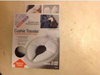 Cushie traveler Folding Padded Potty Seat - New/ Boxed