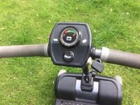 Liteway mobility scooter, medium sized, front suspension, dismantles