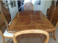 Dining Suite incl 2 carvers and 4 chairs