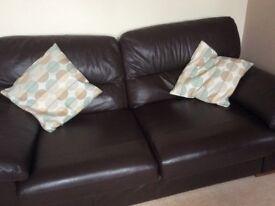 2-3 Seater leather sofa