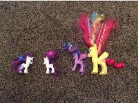 My Little Pony x4 (£3)