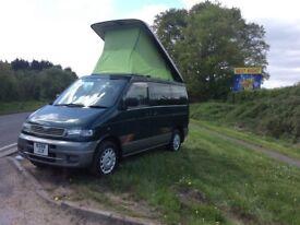 Mazda Bongo 4 Berth camper van with only 1 owner