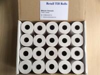 Credit Card, pay zone Machine Thermal Paper Rolls 57x40 mm 20 Rolls x 1 Box = 20 Rolls