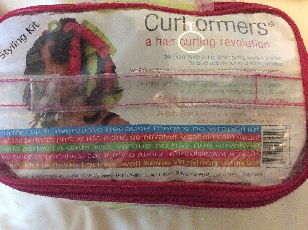Curlformer hair spirals